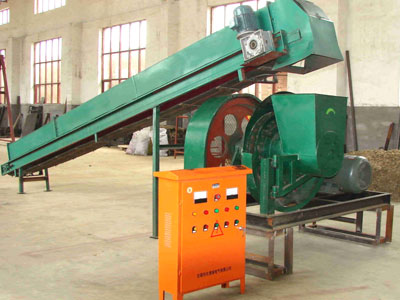 Small Wood Pelletizing Line